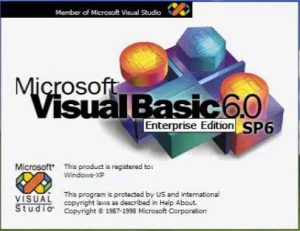 Visual Basic 6 splash screen